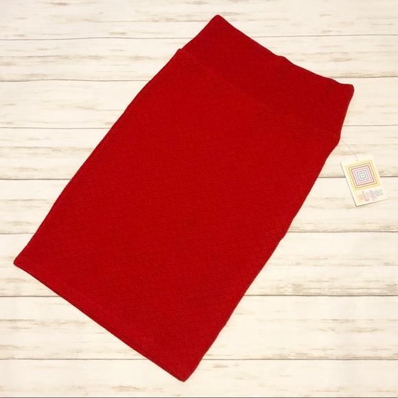 LuLaRoe Dresses & Skirts - NWT Lularoe XS red Cassie pencil skirt